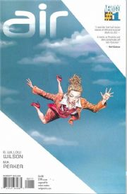 Air #1 (2008) DC comic book